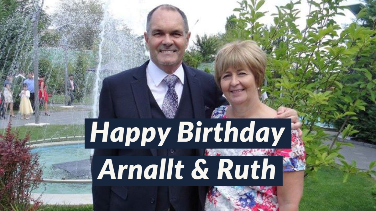 Waterfront Community Church | Happy Birthday to Pastor Arnallt & Ruth!